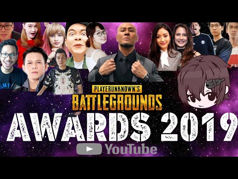 PUBG YOUTUBE AWARDS 2019 INDONESIA ALL STAR YOUTUBER PUBG INDONESIA