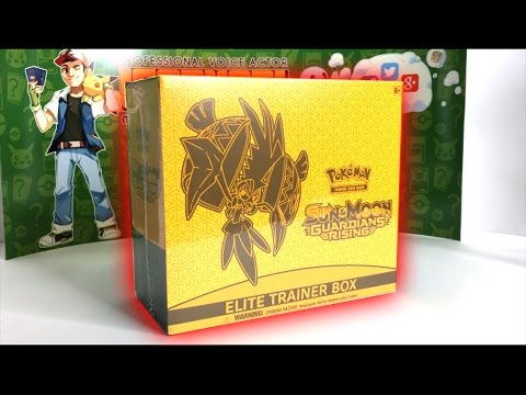 THIS BOX IS EVIL! - Opening a GUARDIANS RISING ELITE TRAINER BOX! - Evil Pokemon Cards!