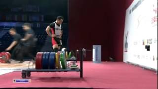 AHMED SAAD Ahmed 3j 160 kg cat. 62 World Weightlifting Championship 2013