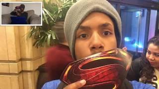 Justice League World Premiere Reaction Video