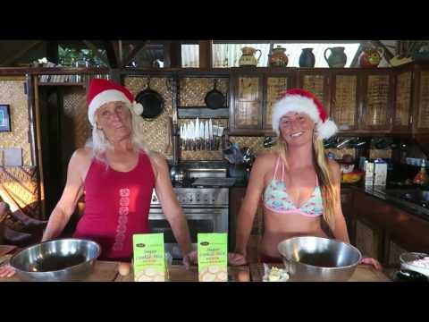 Gluten Free Christmas Cookies - Hawaiian Style!