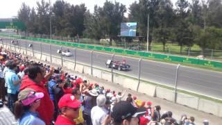DESFILE DE PILOTOS F1 GP MEXICO 2016