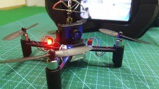 Ráp Quadcopter Micro FPV DM002 - Siêu Nhỏ