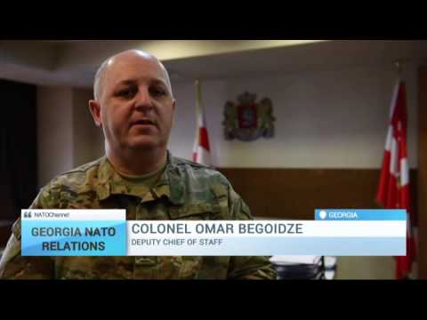 Georgia-NATO Relations: Georgia deploys troops to Afghanistan under Resolute Support Mission