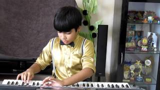 jeena yahan marna yahan by advaith aditya on keyboard