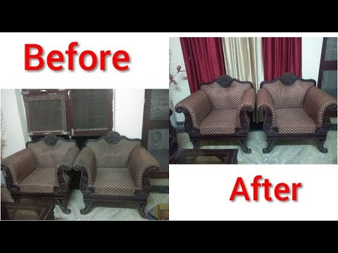 How to clean Fabric Sofa at home | How to clean sofa in india| Sofa Drycleaning