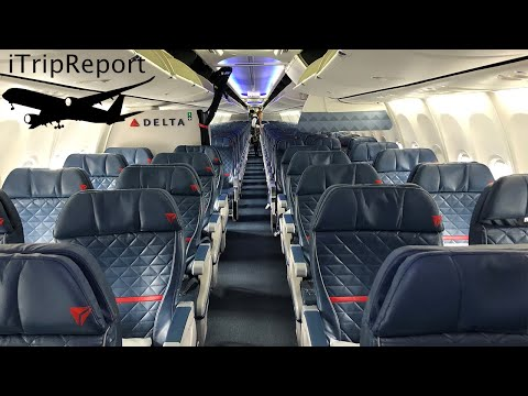 Delta Air Lines 737-900ER First Class Review