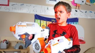 Nerf War:  The Temper