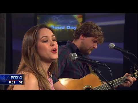 Hayley Orrantia on Good Day FOX 4