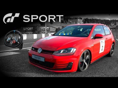 GOLF GTI! DESAFIO FF - Modo Campanha | Gran Turismo Sport + G29 [PT-BR]