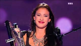"""Lena Woods """"Halo""""    The Voice 2016 (France) blind audition"""