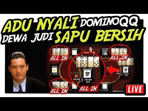 ADU NYALI ! Main DominoQQ Online Dewa Judi Sapu Bersih !!!