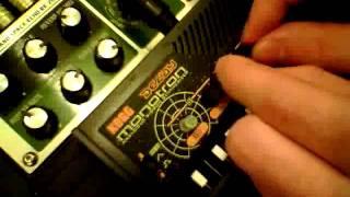 KORG Monotron Delay Feedback noise