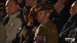 Dawn Service Anzac Day Villers- Bretonneux 25.4.2017(highlights)