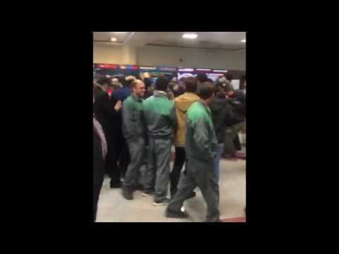 Jordan BURROUGHS (USA) arriving in Iran ahead of the 2017 World Cup