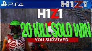 H1Z1 PS4: EASY 20 KILL WIN! H1Z1 PS4 SEASON 2 GAMEPLAY