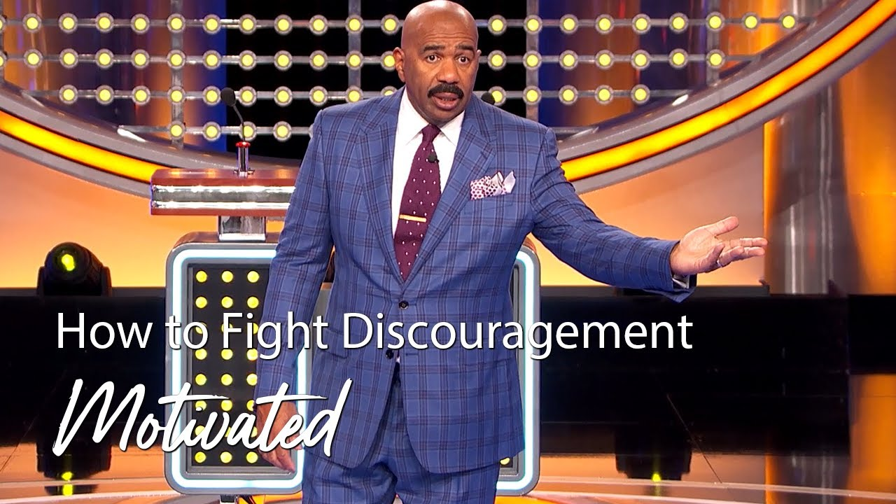 How To Fight Discouragement | Motivated With Steve Harvey