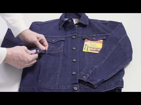 Wrangler Denim Jacket Men 74145pw | Мужская джинсовая куртка Wrangler