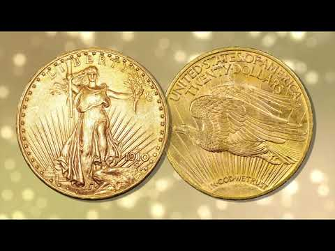U.S. 20 Dollar Gold Coins