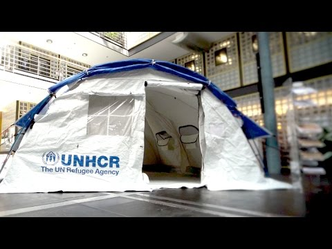 New self-standing tent can be assembled in 30 minutes & New self-standing tent can be assembled in 30 minutes - YouTube