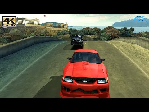 Need For Speed: Hot Pursuit 2 - Gamecube Gameplay 4K 2160p (DOLPHIN)