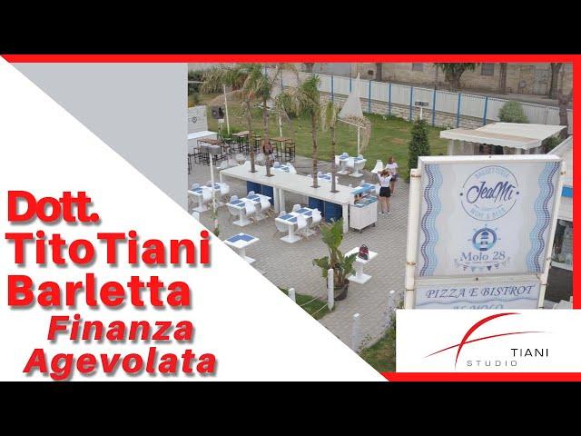 COMMERCIALISTA BARLETTA TITO TIANI - FINANZA AGEVOLATA STUDIO TIANI - MOLO 28