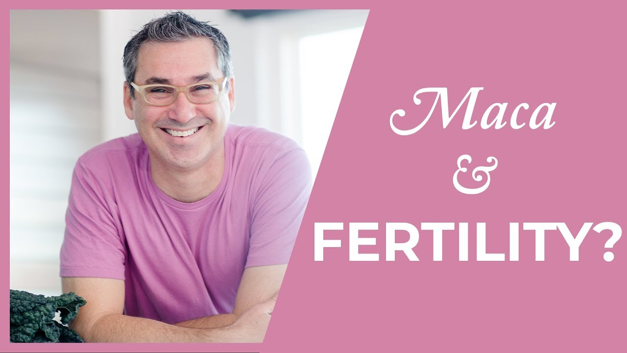 Is Maca good for Fertility? (Marc Sklar The Fertility Expert)