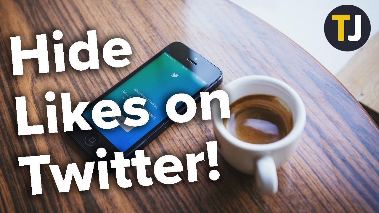 Hide Likes on Twitter