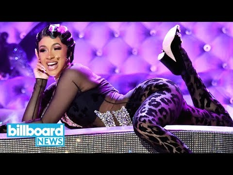 Cardi B Twerks On a Dazzling Piano in Glamorous 'Money' Performance at 2019 Grammys | Billboard News Mp3