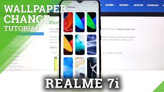 How to Change Wallpaper in REALME 7i – Refresh Display