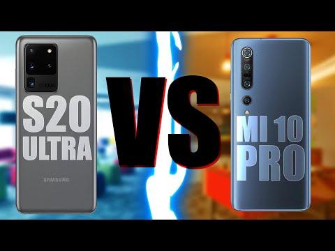Samsung Galaxy S20 Ultra ПРОТИВ Xiaomi Mi10 Pro