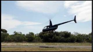 R44 Airshow Display - Practice Session.Wmv