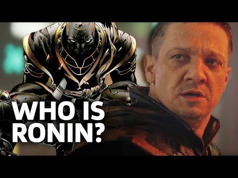 Avengers: Endgame: Who Is Ronin? - Hawkeye's New Identity
