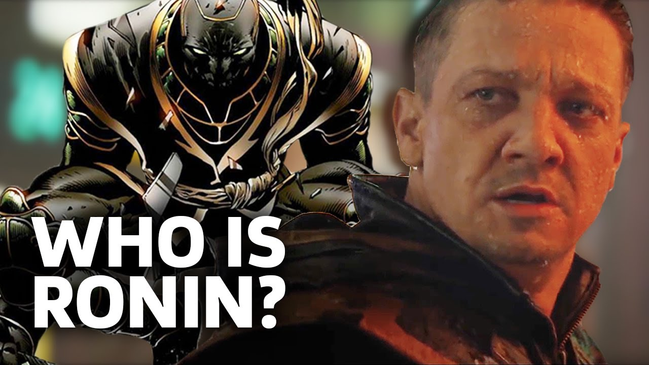 Avengers Endgame Who Is Ronin Hawkeye S New Identity