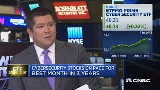 Cybersecurity stocks on pace for best month in 3 years