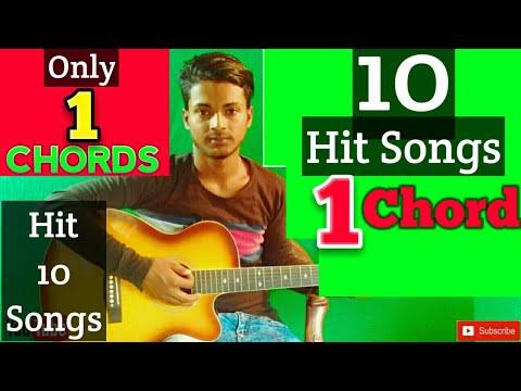 1 Chord 10 Romantic Hit MashupEasy Guitar LessonMera Guitar ChannelHindiBengali