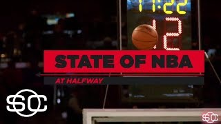 Checking NBA contenders at the halfway mark | SportsCenter | ESPN