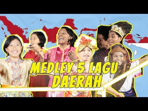 MEDLEY 5 LAGU DAERAH _ YAYASAN PRIMA UNGGUL