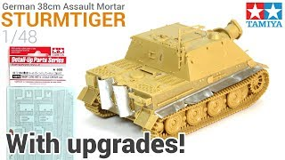 How to build and upgrade Tamiya's 1/48 Sturmtiger! - Scratchbuilt fenders/exhaust covers - Zimmerit