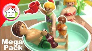 Playmobil Sommer Schwimmbad Eis Geschichten  von Familie Hauser - Mega Pack