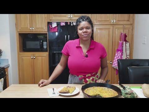 Quiche with Golden Potato Crust
