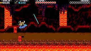 Shovel Knight XBone Turbo Tunnel From Battletoads NES HD60