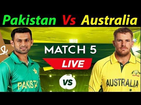 5th Odi Live Pakistan Vs Australia Live Streaming || Ptv Sports LIve