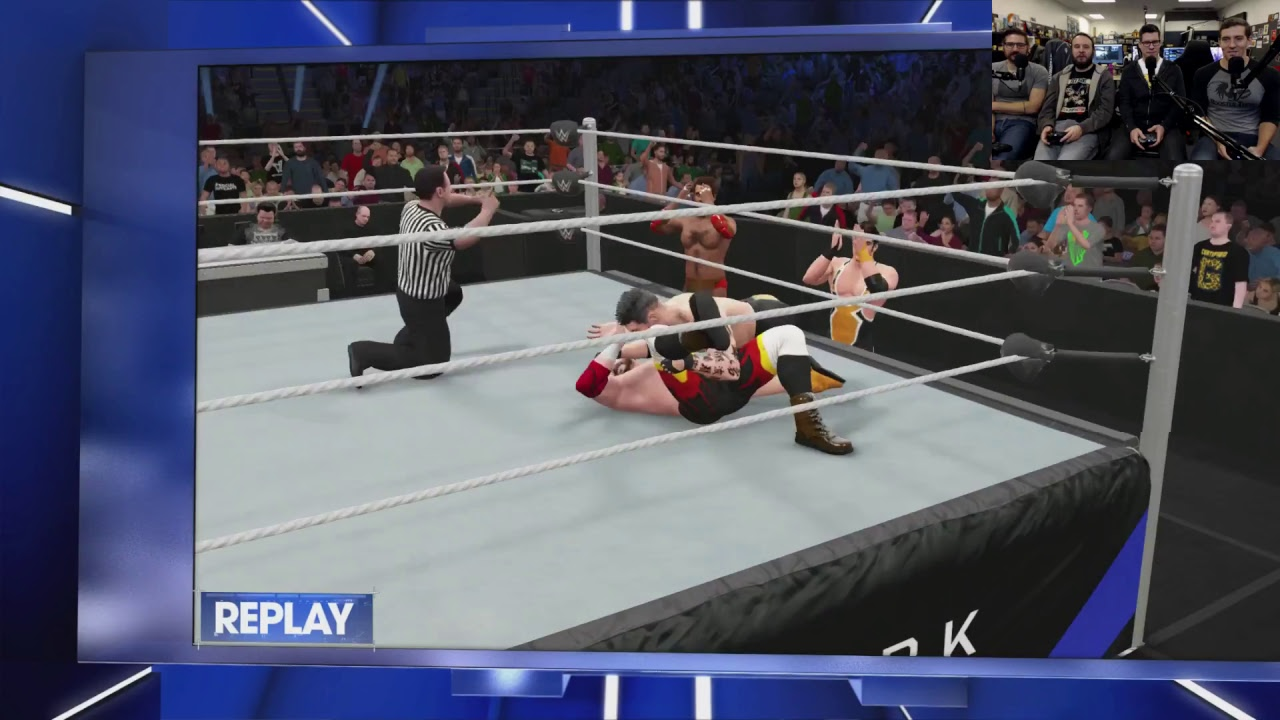 Wrestling Heroes are BACK LIVE! - WWE 2K17