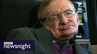 Stephen Hawking on disability and the London 2012 Paralympics - Newsnight Archives