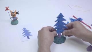 Три кота: Дерево и лес (Лепка)