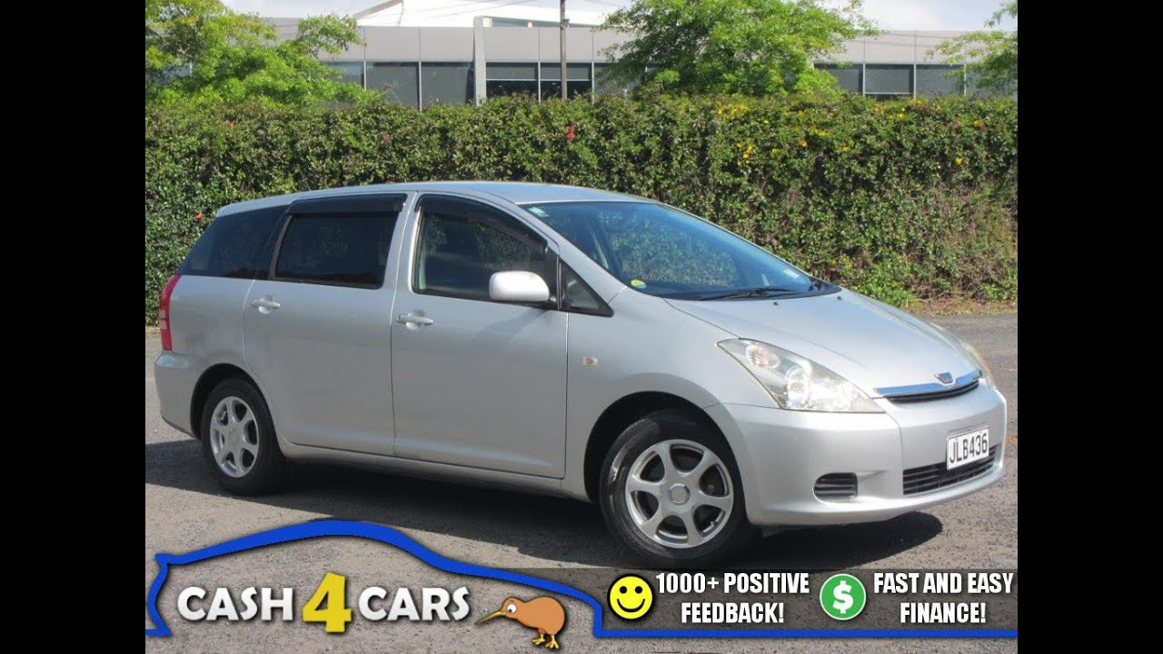 2004 toyota wish 7 seater family wagon cash4cars sold