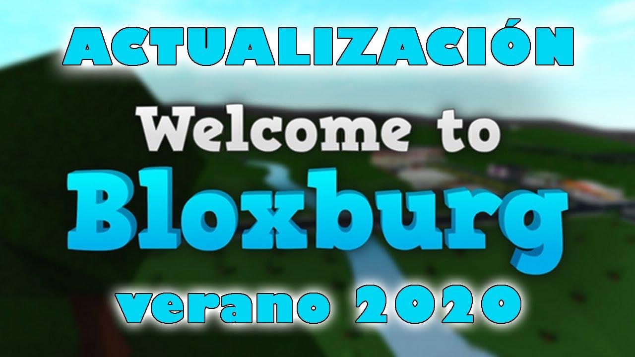 NUEVA ACTUALIZACIÓN BLOXBURG Agosto 2020 | ROBLOX Paula P.