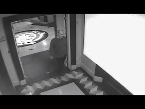 Surveillance video shows Vegas shooter in the days before attack