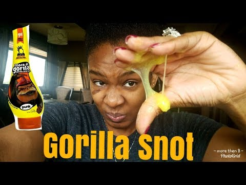 WHAT GORILLA SNOT DID TO MY NATURAL HAIR??? FAIL!
